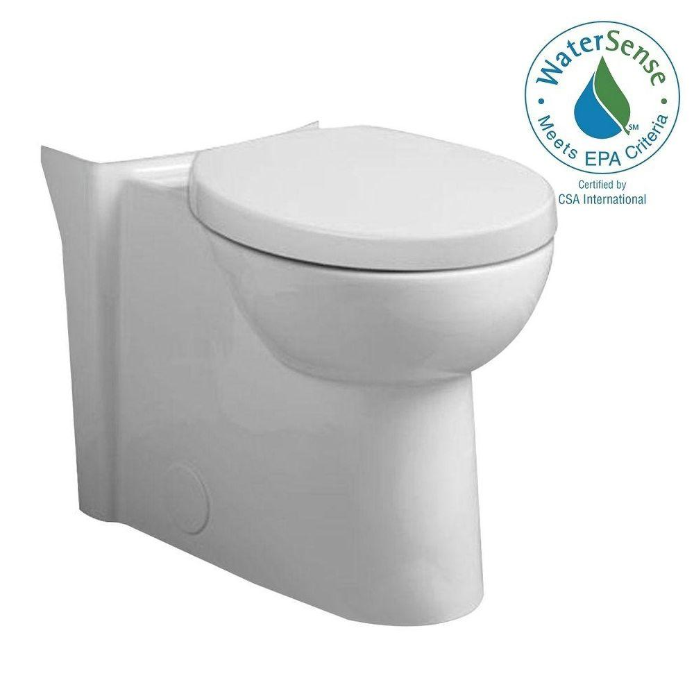 Studio Tall Height 1.6 GPF Round Front Toilet Bowl Only in