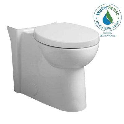 Studio Tall Height 1.6 GPF Round Front Toilet Bowl Only in White