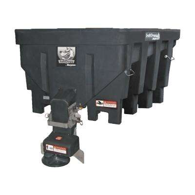 1.5 cu. yds. Electric Black Poly Hopper Salt Spreader