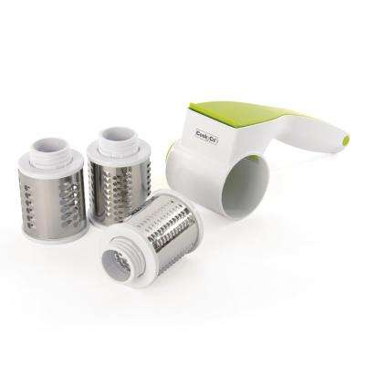 CooknCo Green and White Grater