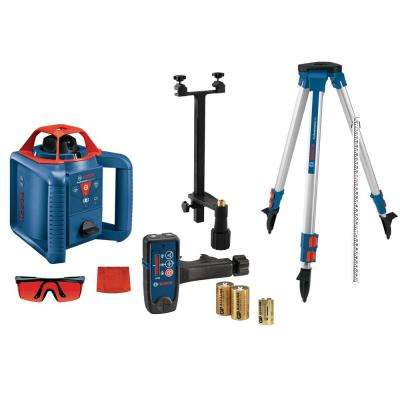 800 ft. Self Leveling Rotary Laser Level Kit with Carrying Case