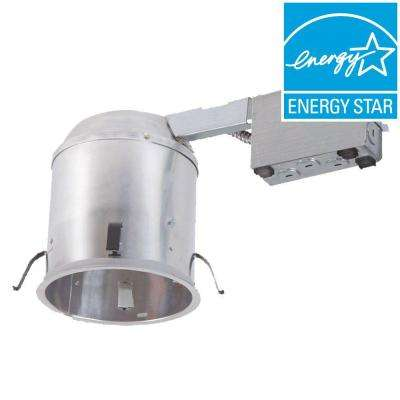 H750 6 in. Aluminum LED Recessed Lighting Housing for Remodel Ceiling, Insulation Contact, Air-Tite (6-Pack)