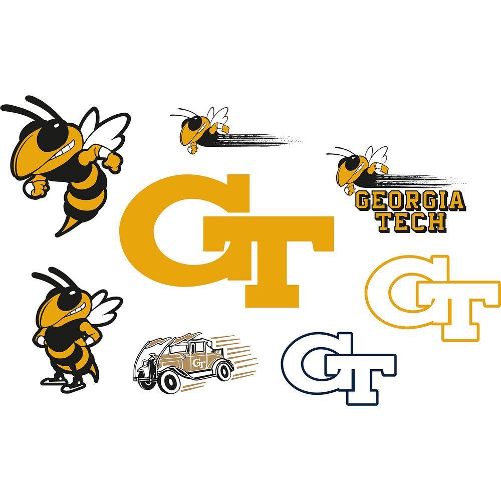 Fathead Georgia Tech Logo Sheet Wall Decal