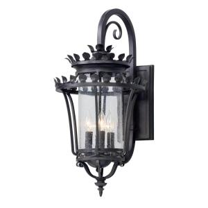 Troy Lighting Greystone 4-Light Forged Iron Outdoor Wall Mount Sconce by