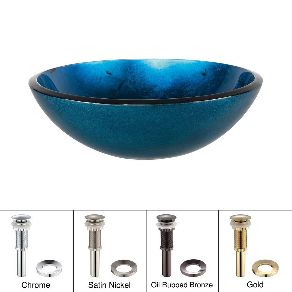 KRAUS - Multi-Colored - Vessel Sinks - Bathroom Sinks - The Home Depot