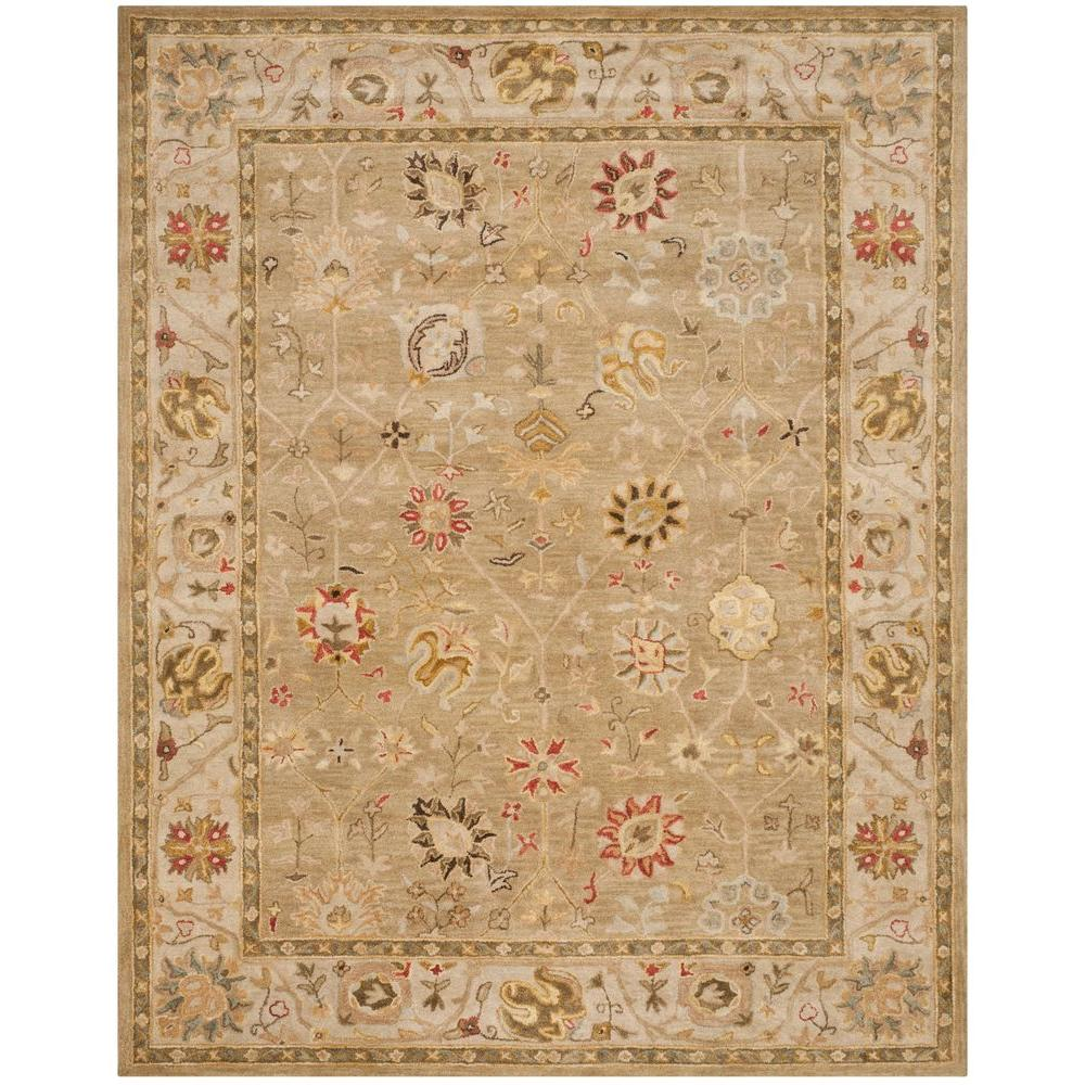 safavieh antiquity taupe beige 7 ft 6 in x 9 ft 6 in area rug at859b 8 the home depot. Black Bedroom Furniture Sets. Home Design Ideas