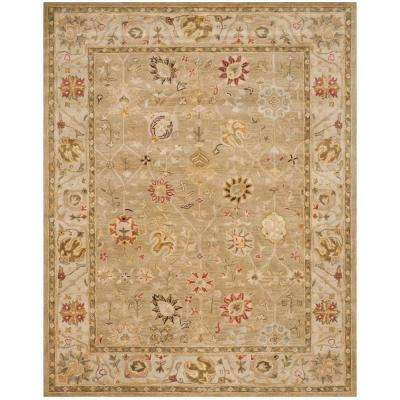 Antiquity Taupe/Beige 8 ft. x 10 ft. Area Rug