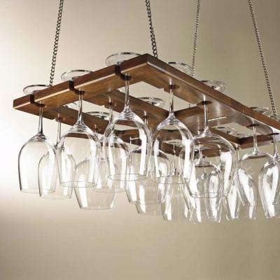 Foldable Hanging Stemware Rack
