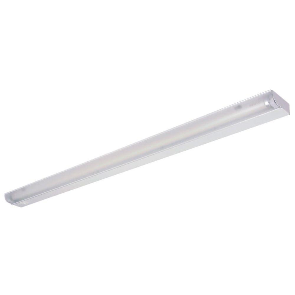 34.5 in. White Fluorescent Under Cabinet Economy Fixture