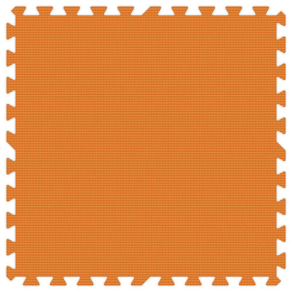 Groovy Mats Orange Comfortable Mats - Small Sample Piece