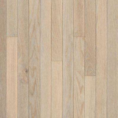 American Originals Sugar White Oak 3/4 in. T x 5 in. W x Varying L Solid Hardwood Flooring (940 sq. ft. / pallet)