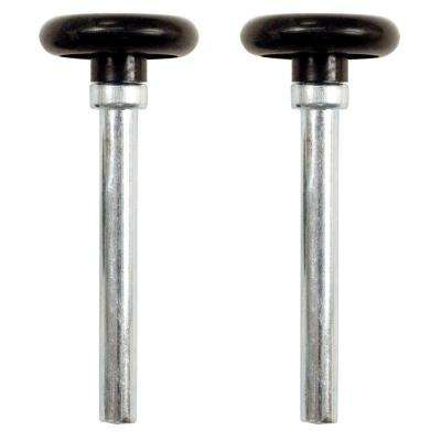 1-3/4 in. Nylon Rollers with 4 in. Stems (2-Pack)