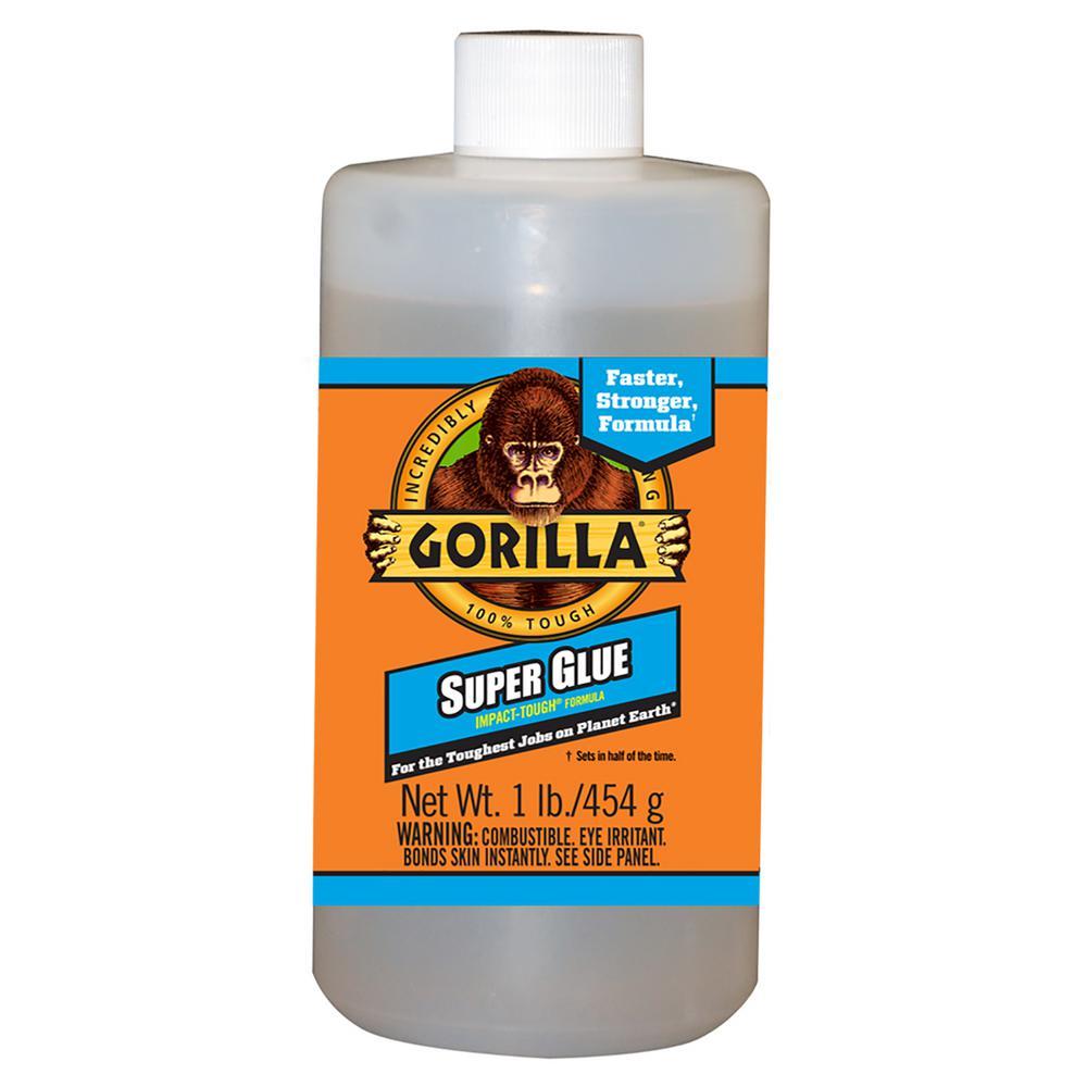 Gorilla Glue 1 lb. Super Glue Bottle