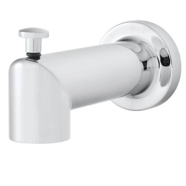 Neo Diverter Tub Spout in Polished Chrome (Valve and Handles Not Included)