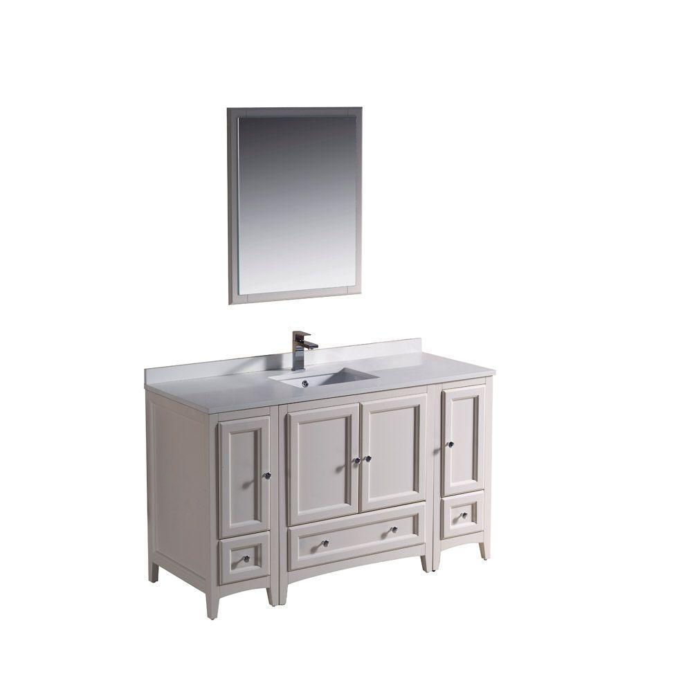54 bathroom vanity single sink