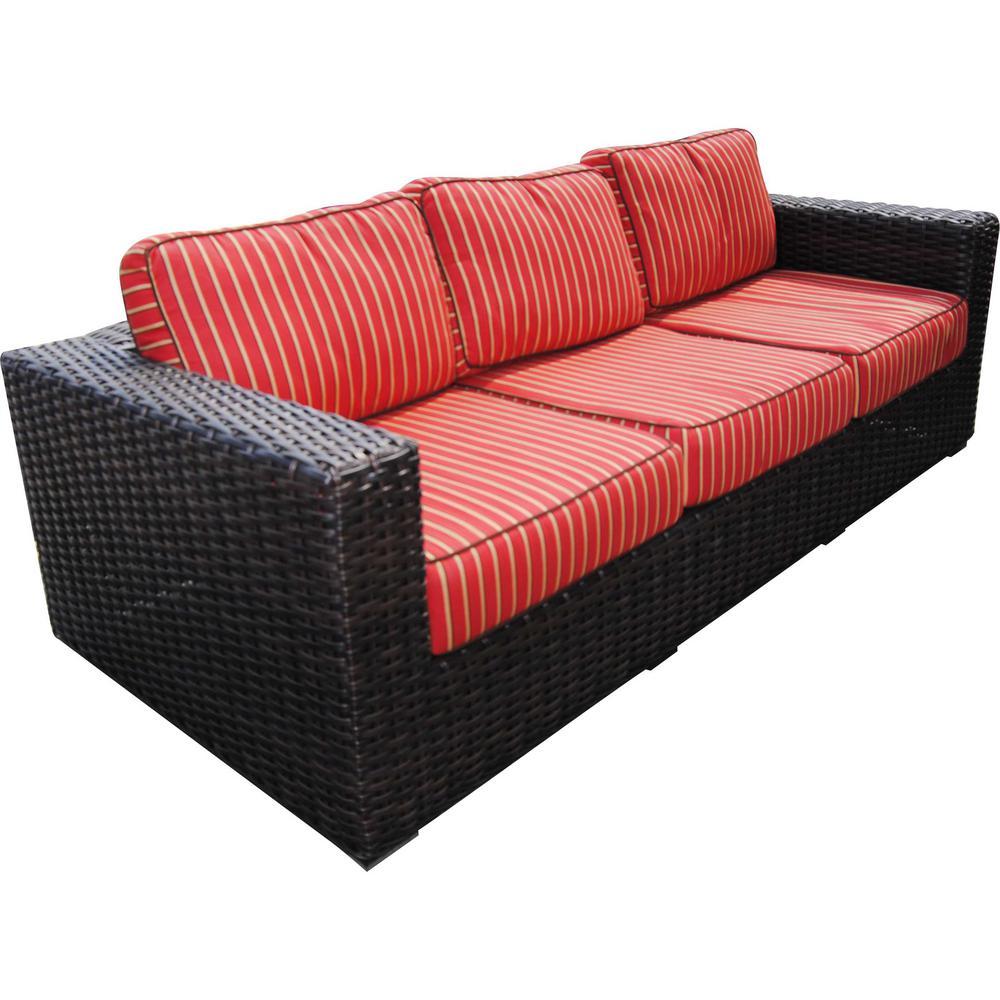 Sofa Wicker Patio Product Picture