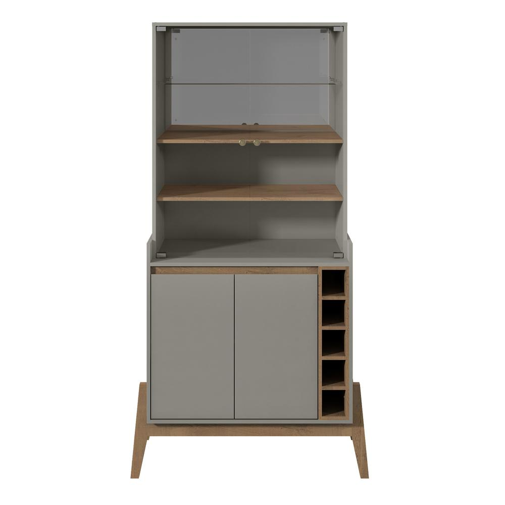 Essence 5-Bottle Grey Wine Cabinet