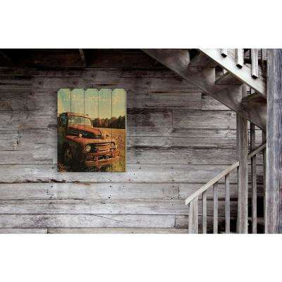 """Welcome to the Country"" by Anthony Smith Wood Wall Art"
