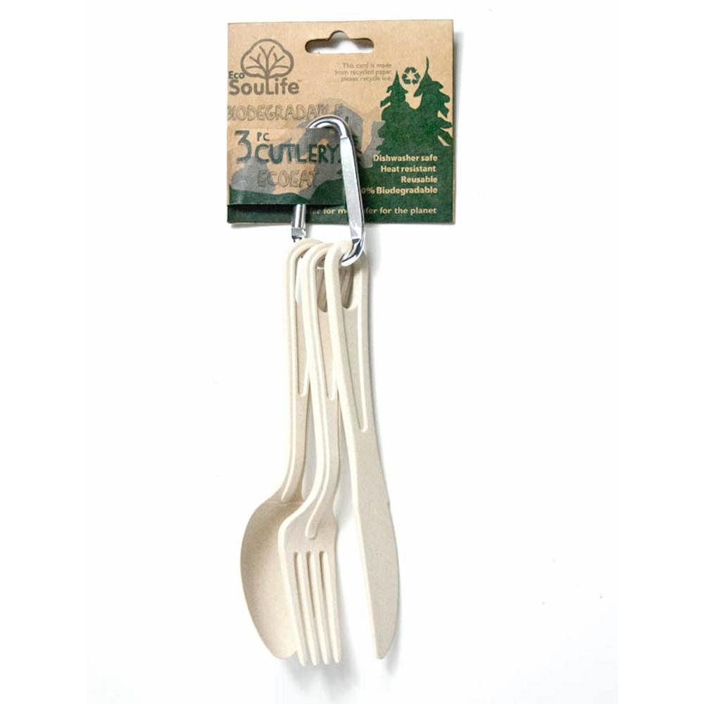 Bamboo 9-Piece Sand Cutlery