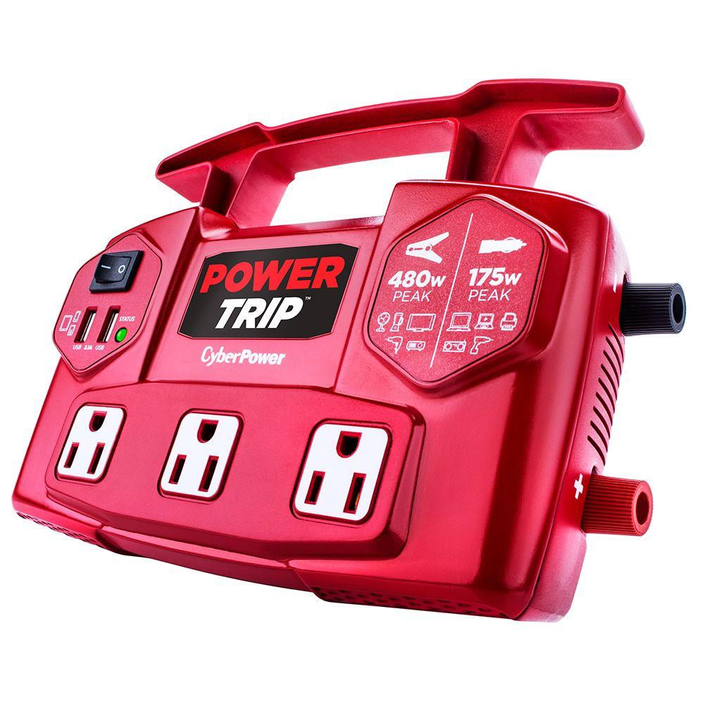 PowerTrip 480-Watt Power Inverter