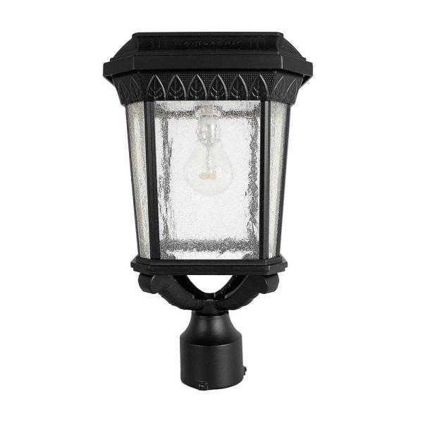 Colonial Outdoor Black Integrated Led