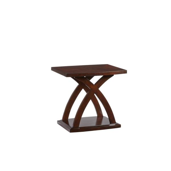 West Wind Espresso Rectangular End Table