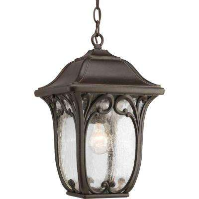 Enchant Collection Espresso Outdoor Hanging Lantern