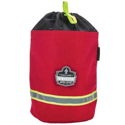 Arsenal 8.5 in. Tool-Bag with Fleece in Lining Red