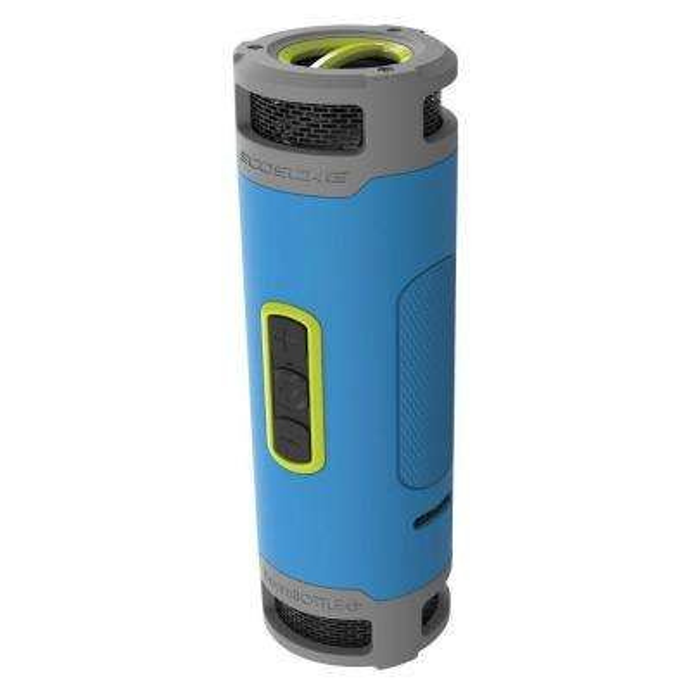 Boombottle Plus 12-Watt Waterproof Bluetooth Wireless Speaker