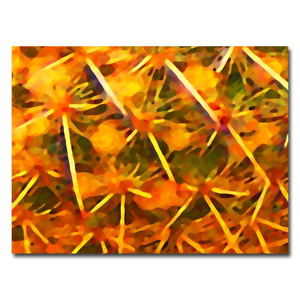 null 35 in. x 47 in. Cactus Patterns Canvas Art
