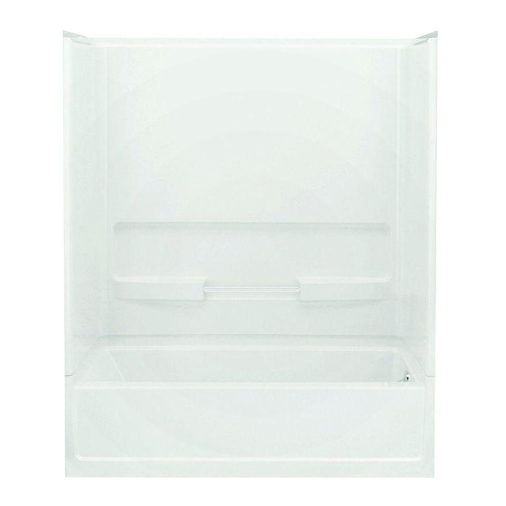 Advantage 31.25 in. x 60 in. x 73.25 in. Bath and