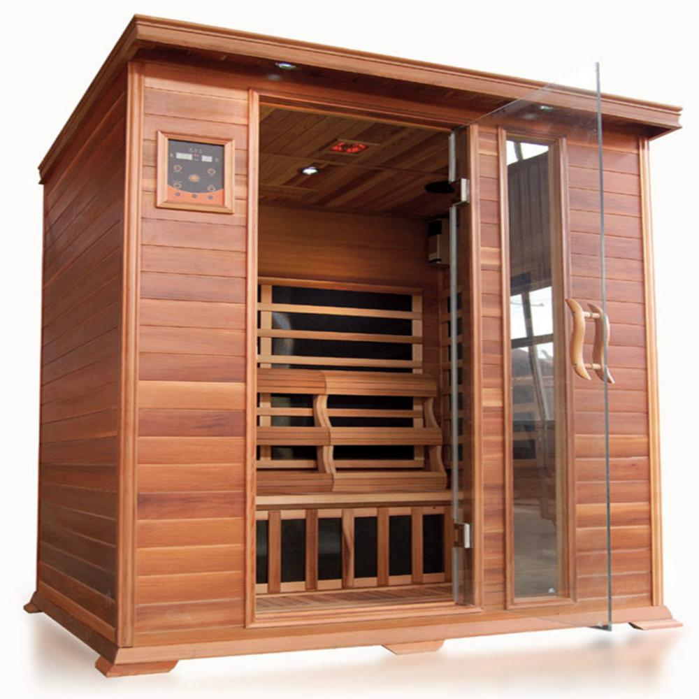 Savannah 3-Person Infrared Cedar Sauna