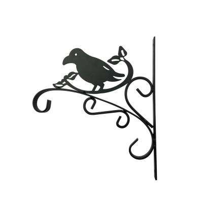 12 in. Metal Bird Plant Bracket
