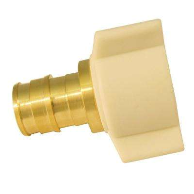 1/2 in. Brass PEX-A Expansion Barb x 1/2 in. FNPT Female Swivel Adapter