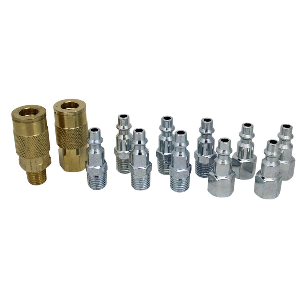 12-Piece Coupler and Plug Kit