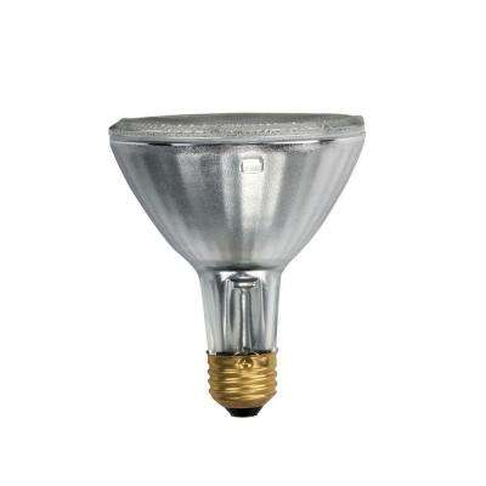 50-Watt Halogen PAR30L Long Life Wide Flood Light Bulb