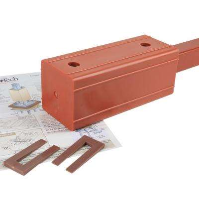 3.5 in. x 3.5 in. x 3 ft. Secure-Mount Post