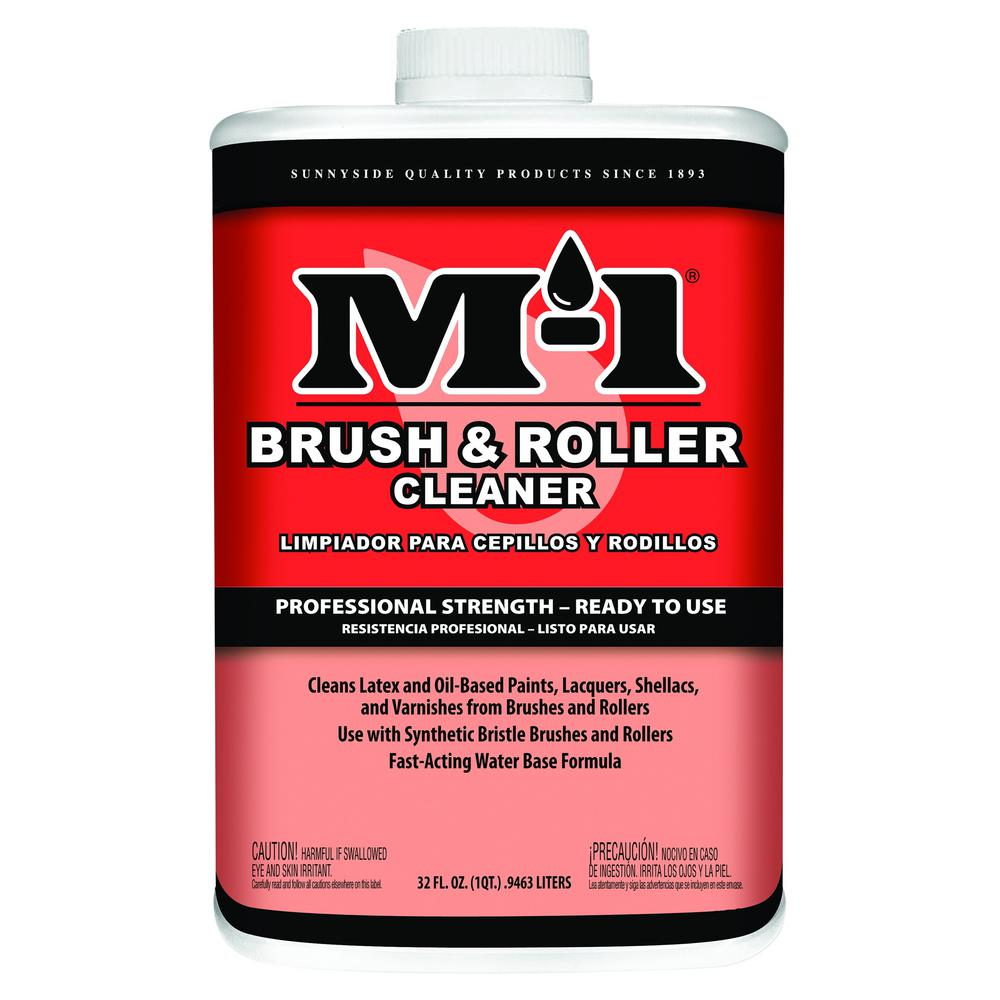 M-1 1 qt. Brush and Roller Water-Based Cleaner (4-Pack)