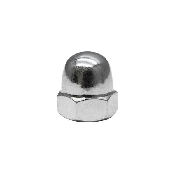 """Pack of 25 New Chrome Acorn Nuts 5//16/"""" Hex"""