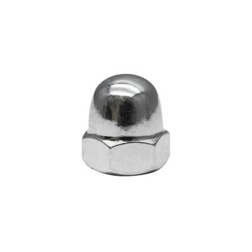 5/16 in.-18 Zinc Plated Cap Nut (2-Pack)