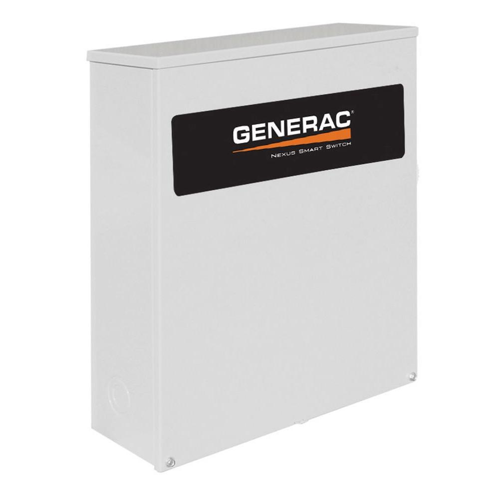 Generac 400 Amp Transfer Switch Service Disconnect Wiring Diagram 3 Phase Generator Switches Rtsn400j3 64 1000 Accessories The Home Depot At 120 240 Volt