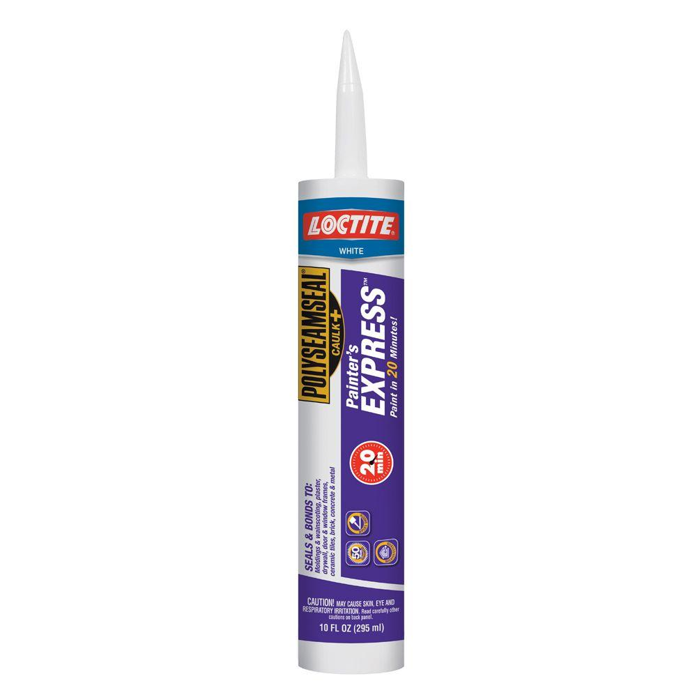 Loctite Polyseamseal 10 fl. oz. White Painter Express Caulk (12-Pack)