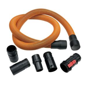 Ridgid 1 7 8 In X 10 Ft Pro Grade Vacuum Hose Kit For