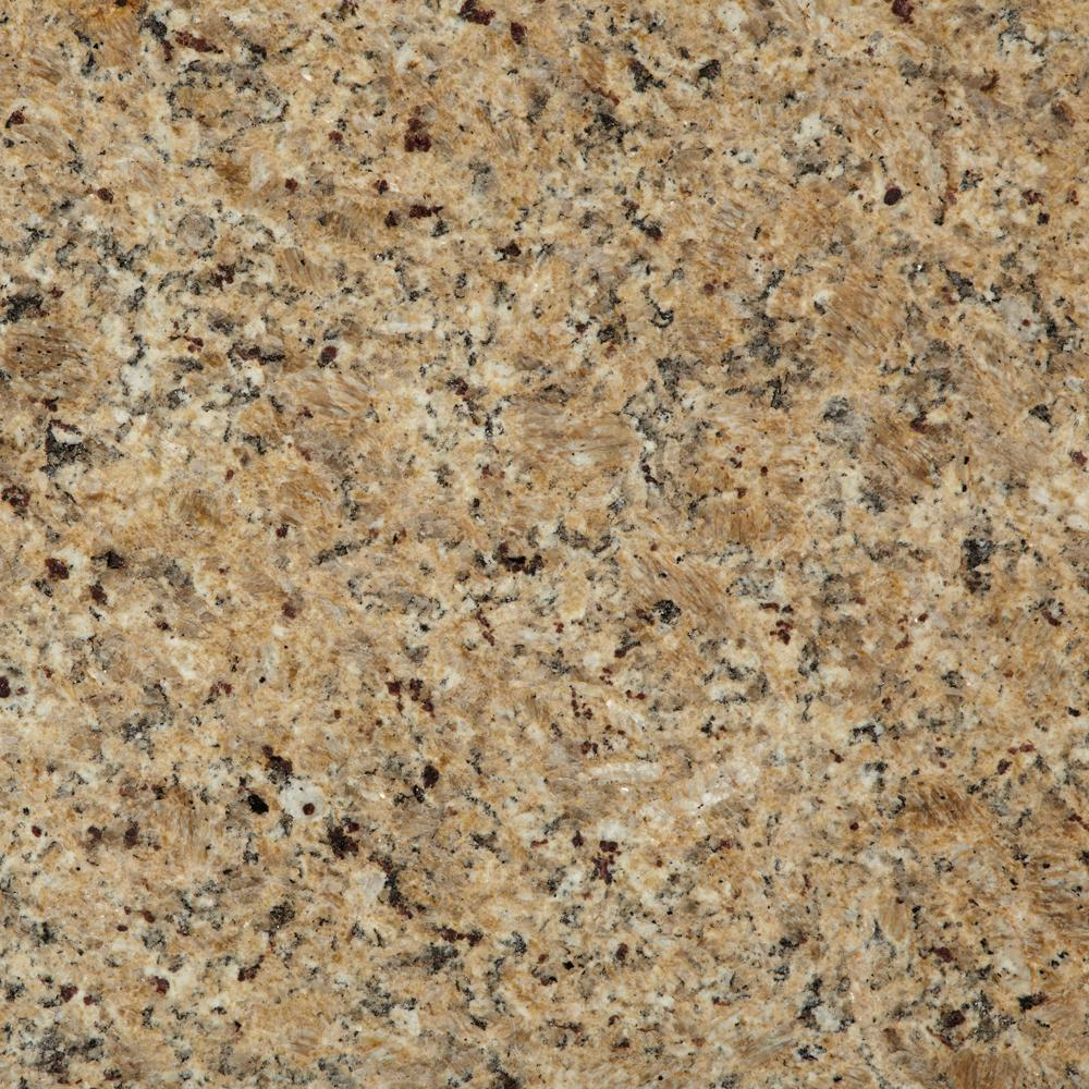 Stonemark Granite 3 In. X 3 In. Granite Countertop Sample In New Venetian  Gold