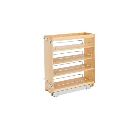 25.48 in. x 8.19 in. x 22.47 in. Pull-Out Organizer with Wood Base