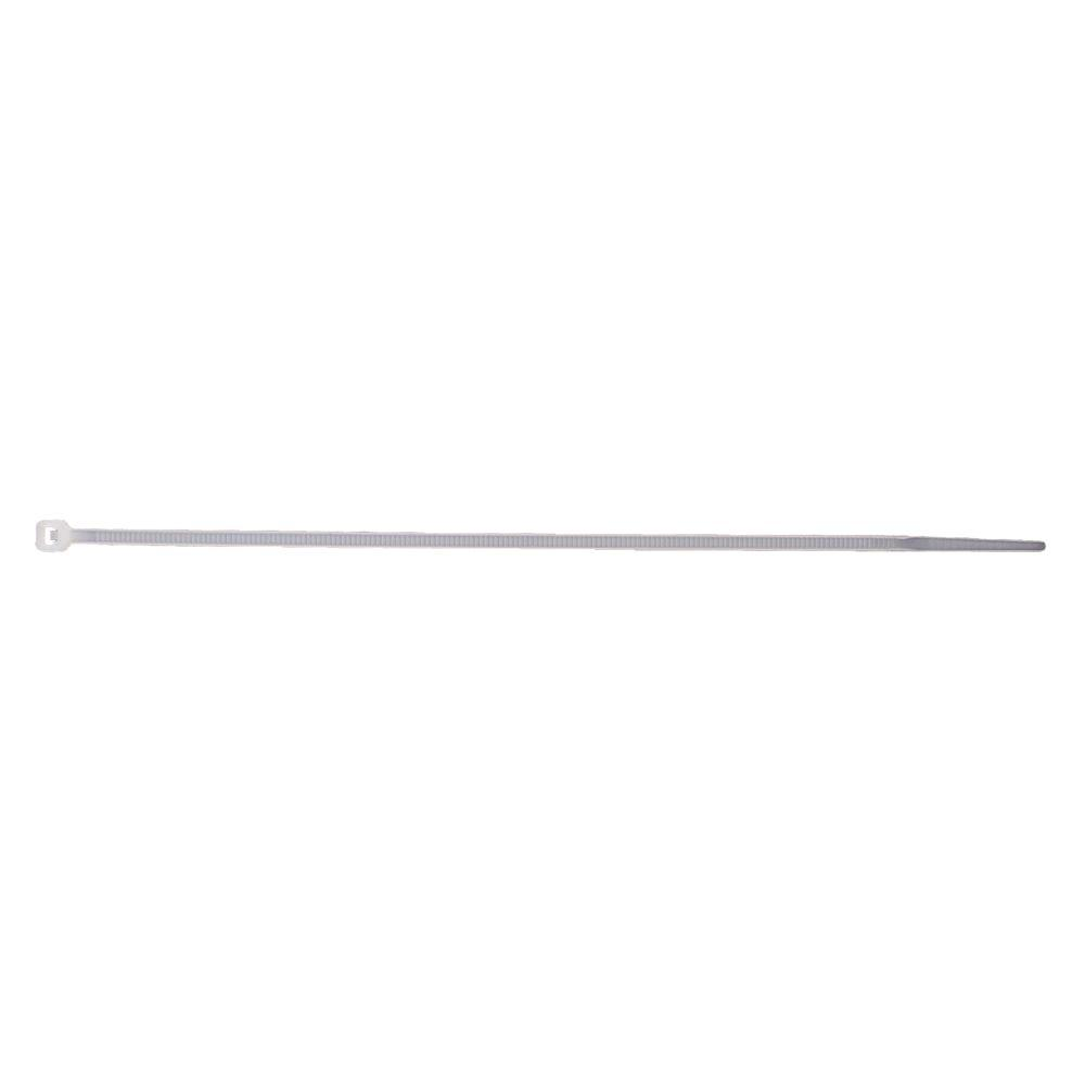 GE 8 in. Plastic Cable Ties - Clear (20-Pack)-DISCONTINUED