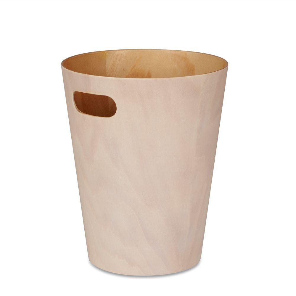 Woodrow 2.25 gal. Wood Waste Basket