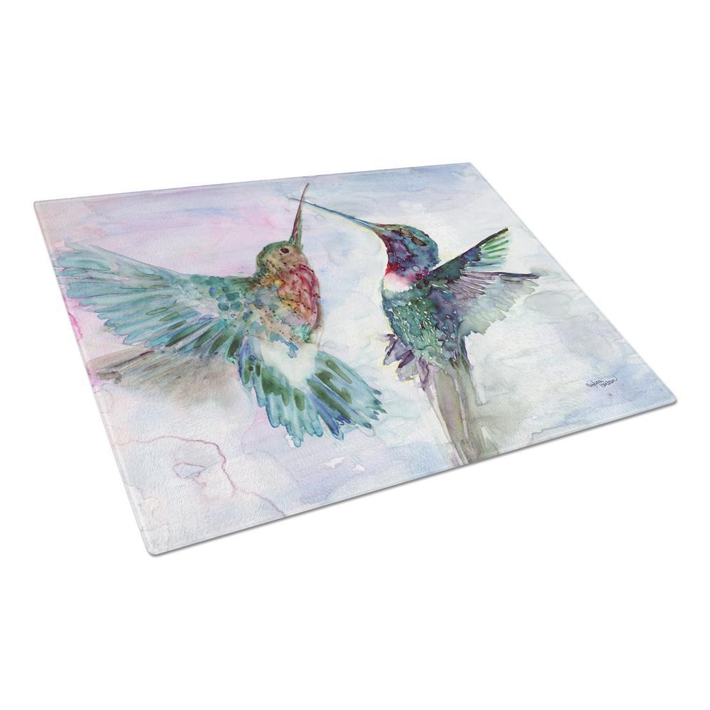 Hummingbird Combat Tempered Glass Large Cutting Board