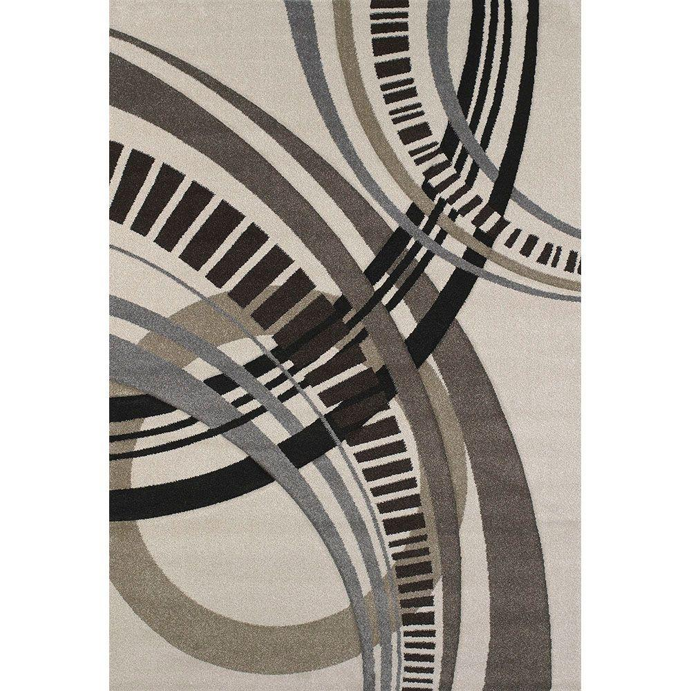 United Weavers Sensation Cream 5 ft. 3 in. x 7 ft. 6 in. Area Rug