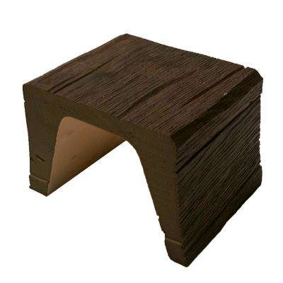 7-7/8 in. x 5-7/8 x 6 in. Long Faux Wood Beam Sample